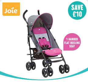 Joie Nitro Stroller Charcoal/Pink