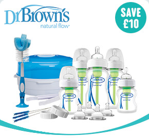 Dr. Browns Natural Flow Deluxe New-born Gift Set