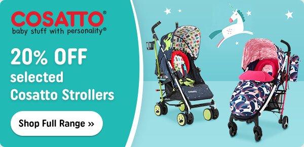 Cosatto Strollers