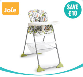 Joie Mimzy Snacker 123 High Chair