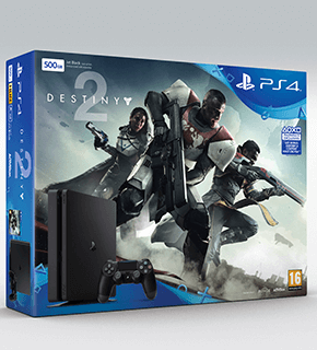 Playstation 4 500GB Destiny 2 Bundle