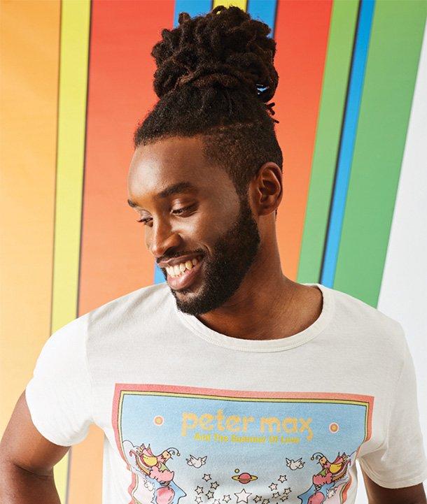 Peter Max X Wrangler Men's Graphic T-Shirt