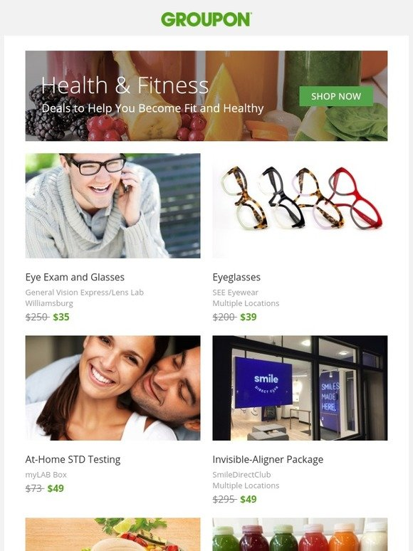 Prescription 2 Fitness Groupon