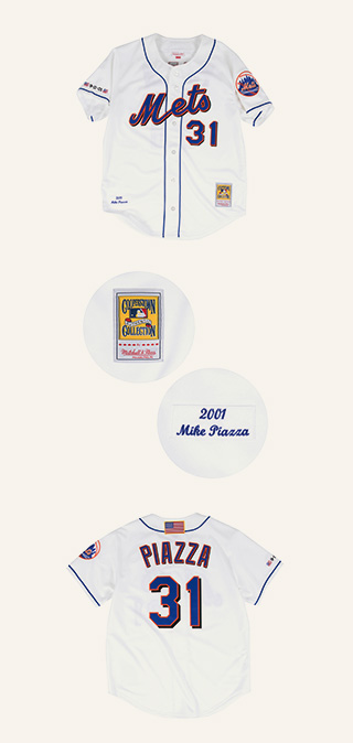 A City's Hero Mike Piazza's 2001 Mets Jersey Returns