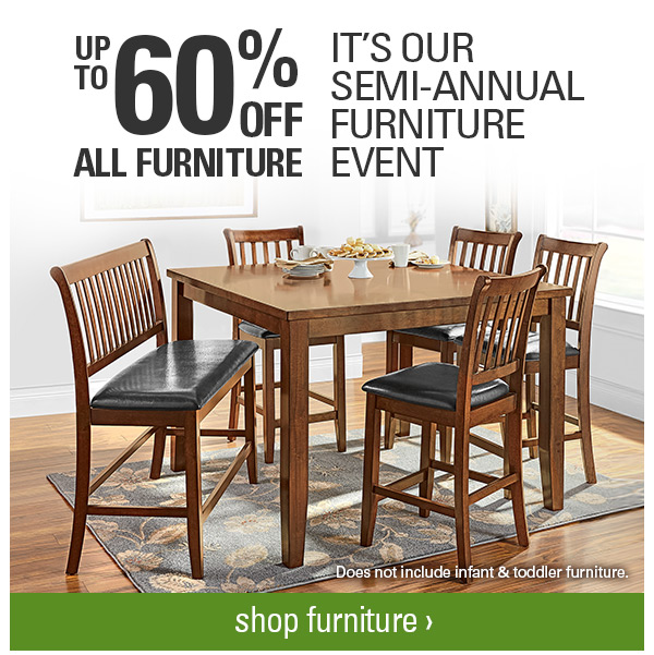 Shopko Don T Forget Up To 60 Off Furniture Event Milled