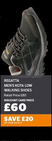 Regatta Men's Kota Low Walking Shoes