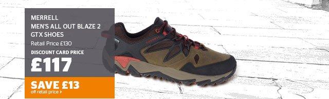 Merrell Men's All Out Blaze 2 GTX Shoes