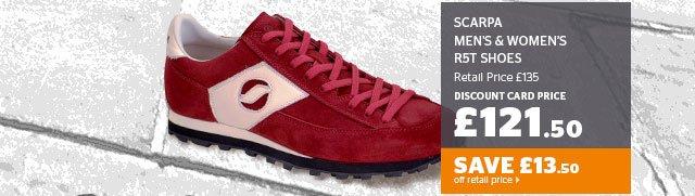 Scarpa Men's & Women's R5T Shoes