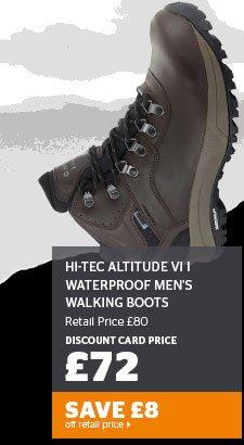 Hi-Tec Altitude VI i Waterproof Men's Walking Boots