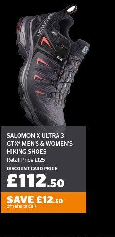 Salomon X Ultra 3 GTX® Men's & Women's Hiking Shoes