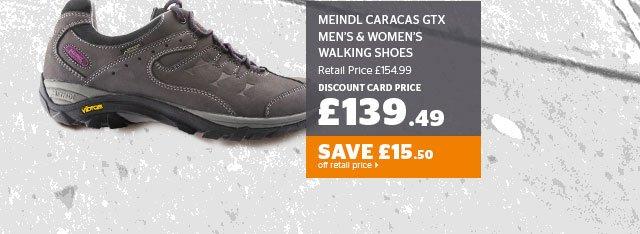Meindl Caracas Gtx Men's And Women's Walking Shoes