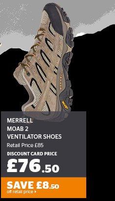 Merrell Moab 2 Ventilator Shoes