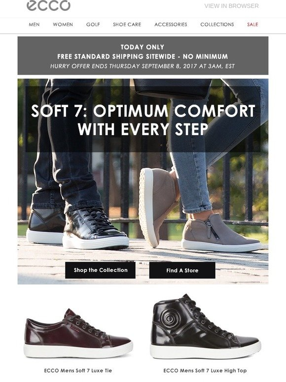 94099b8f ECCO USA SHOES: Soft 7 Styles- the Latest in Modern Comfort for Him ...