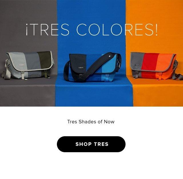 ¡TRÉS COLORES! – Tres Shades of Now – Shop Now
