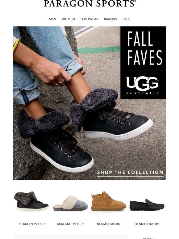 2d1582f543d Paragon Sports: FRIDAY FEATURE: Our Fall Picks are Here! UGG ...