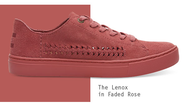 The Lenox in Faded Rose