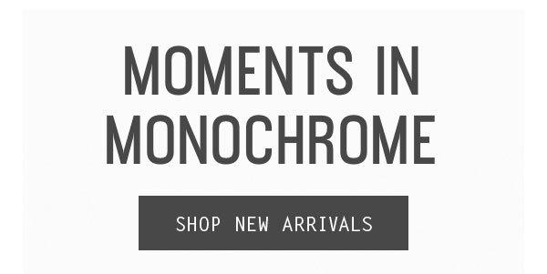 Monochrome Shoes - Shop New Arrivals