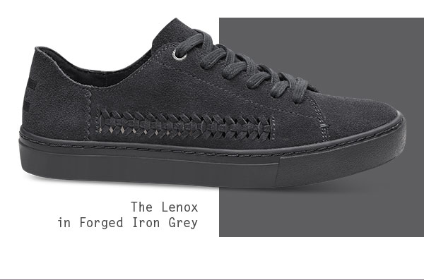 The Lenox in Forged Iron Grey