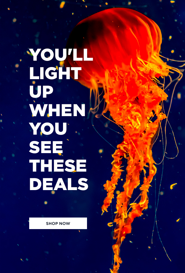 We hope these incredible deals light up your day!