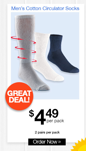 Men's Cotton Circulator Socks
