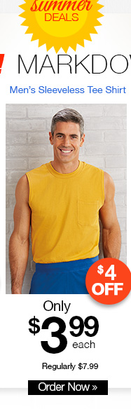Men's Sleeveless Tee Shirt