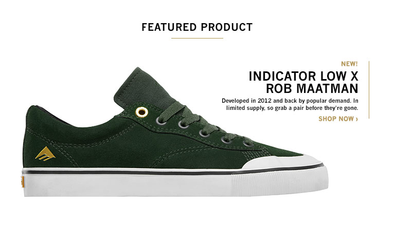 EMERICA INDICATOR LOW X ROB MAATMAN