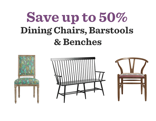 Save Up To 50% Dining Chairs, Bar Stools & Benches ›