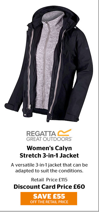 Regatta Women's Calyn Stretch 3-in-1 Jacket