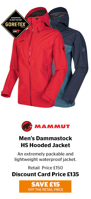 Mammut Men's Dammastock HS Hooded Jacket