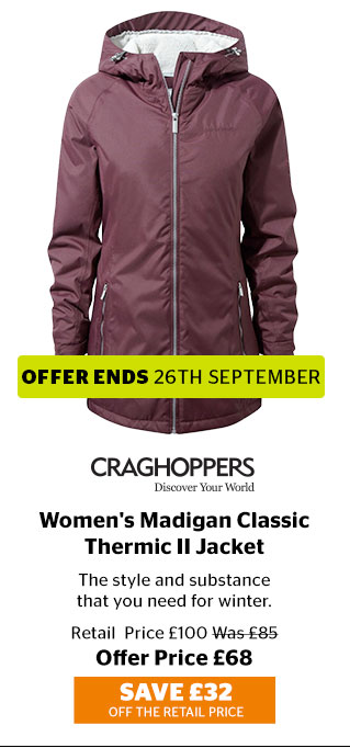 Craghoppers Women's Madigan Classic Thermic II Jacket