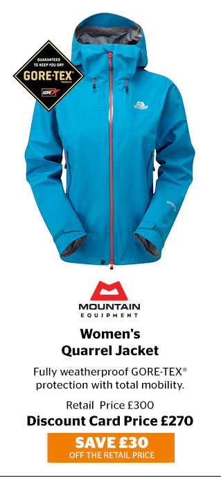 Mountain Equipment Women's Quarrel Jacket