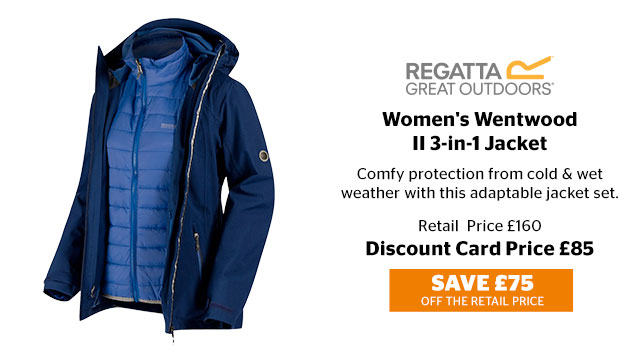 Regatta Women's Wentwood II 3-in-1 Jacket