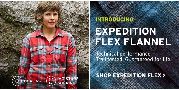 THE ICONIC OUTDOOR SHIRT | SHOP EXPEDITION FLEX