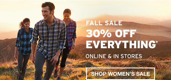 30% OFF EVERYTHING | SHOP WOMEN'S SALE