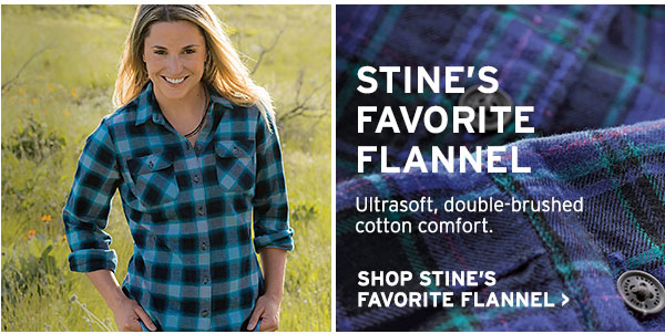 THE ICONIC OUTDOOR SHIRT | SHOP STINE'S FAVORITE FLANNEL