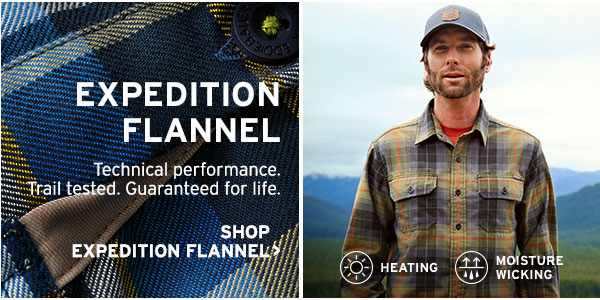 THE ICONIC OUTDOOR SHIRT | SHOP EXPEDITION FLANNEL