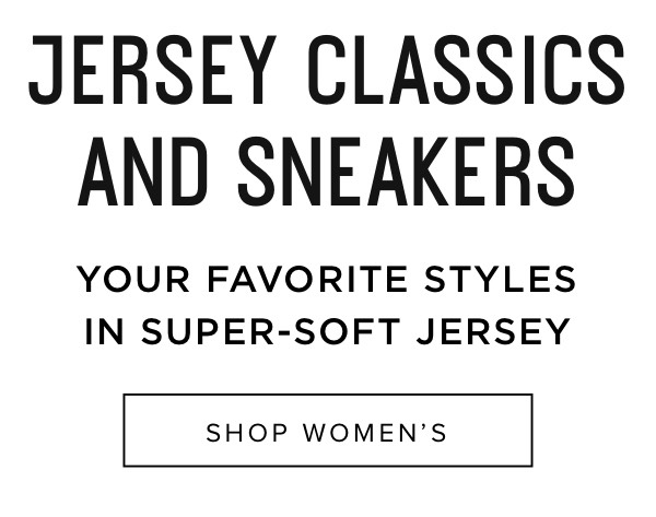 Jersey Classics And Sneakers - Shop Women's