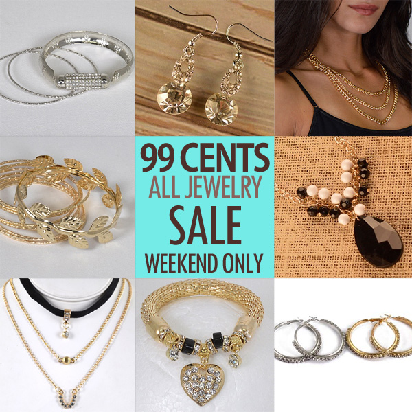 99 Cents All Jewelry In Stock