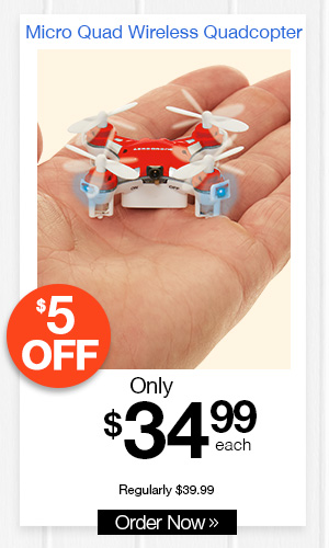 Micro Quad Wireless Quadcopter