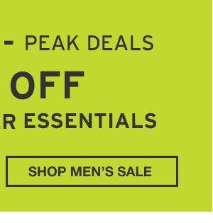 60% OFF END-OF-SUMMER ESSENTIALS | SHOP MEN'S SALE