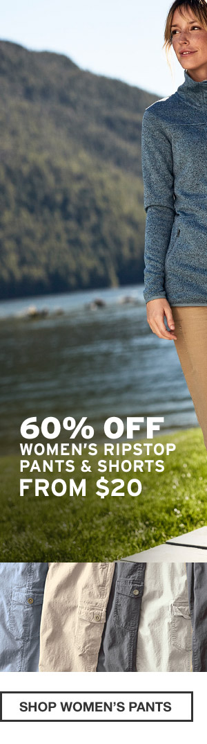 60% OFF END-OF-SUMMER ESSENTIALS | SHOP WOMEN'S PANTS