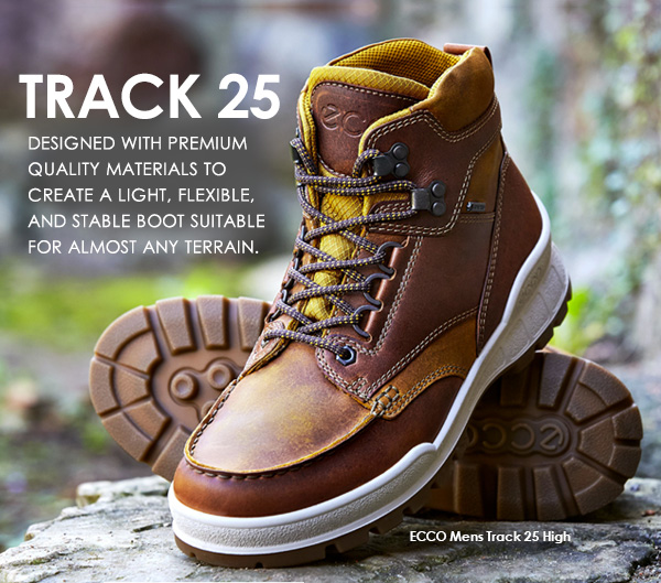 d2d49f3e52 ECCO USA SHOES: Track 25-New Styles Designed with Premium Materials ...