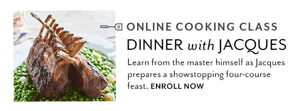 Online Cooking Class with Jacques