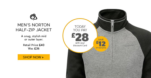 Craghoppers Men's Norton Half-Zip Jacket