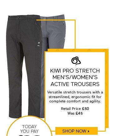 Craghoppers Kiwi Pro Stretch Men's/Women's Active Trousers