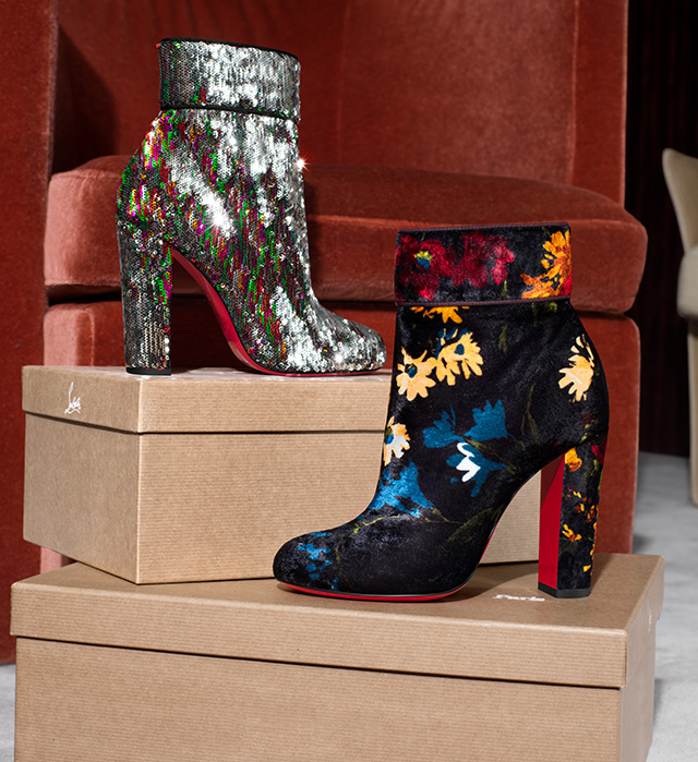 From Christian Louboutin, Saint Laurent, Manolo Blahnik, Gianvito Rossi and more.