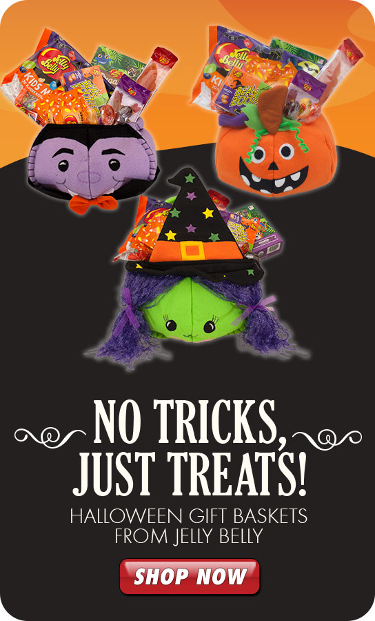 Jelly Belly Halloween Gift Baskets product listing page