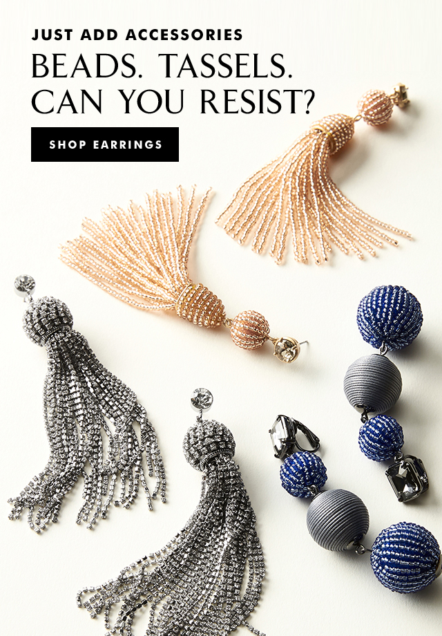 JUST ADD ACCESSORIES | SHOP EARRINGS