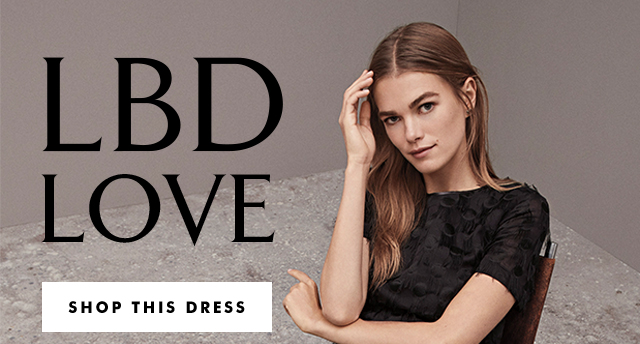 LBD LOVE | SHOP THIS DRESS