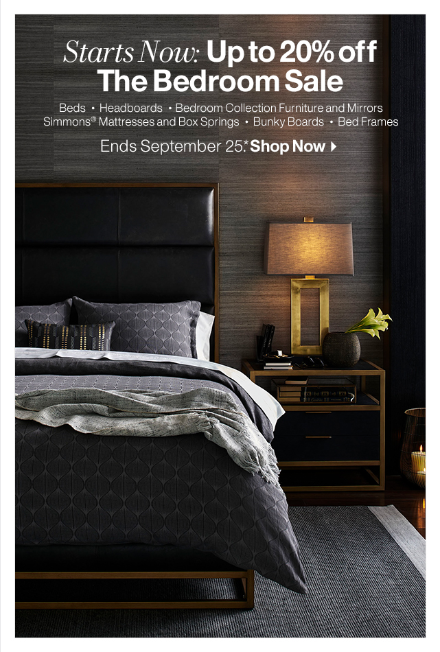 Crate And Barrel Up To 48% Off The Bedroom Sale Starts Now Milled Enchanting Bedroom Boards Collection